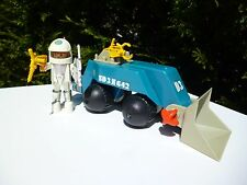 👿 Ancien Jouet Playmobil Playmo Space Espace Année 1980 Vintage Authentique