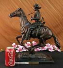 Trooper of the Plains by Frederic Remington Hot Cast Bronze Sculpture home Decor