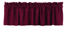 Olivia's Heartland country primitive cabin Burlap Wine burgundy VALANCE curtain