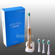 LANSUNG A39Plus Dental Electric Toothbrush Rechargable+4*Brush Heads 220V DuPont