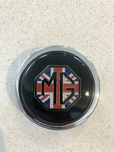 MG Union Jack Horn Button For Nardi Mini Cooper