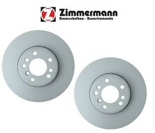 BMW X5 E53 Pair Set of 2 Front 332 x 30mm Vented Disc Brake Rotors Zimmermann