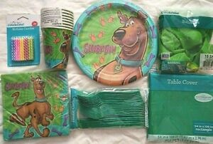 SCOOBY DOO Where Are You? Birthday Party Supply SUPER Kit 8 w/ Candles & More
