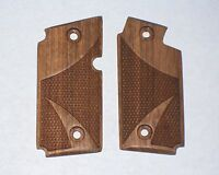 NEW Sig Sauer P238 Pistol Checkered Classic Wood Grips 380 ACP #1991