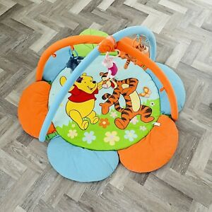 Disney Baby Winnie The Pooh Baby Activity Gym Play Mat Reversible