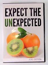 NEW!~JOEL OSTEEN MINISTRIES~EXPECT THE UNEXPECTED~2 CD & 1 DVD DISC SET/SERIES