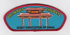 SCOUTS OF JAPAN (NIPPON) - BSN OKINAWA SCOUT COUNCIL SHOULDER PATCH ~ NEW ISSUE
