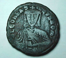 Byzantine Empire Æ Follis Leo Vi The Wise(886-912) Constantinople Copper Coin