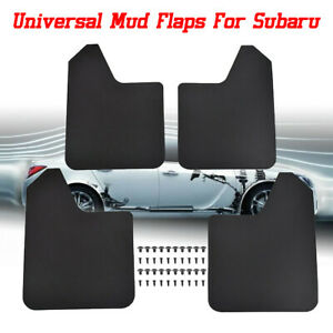 4x Mud Flaps Mudflaps Mudguards Splash Guards For Subaru Legacy Impreza WRX STI