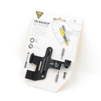 Topeak TBU-AST Tri-BackUp Air Station Bike Bottle Cage CO2 Cartridge Pump Mount