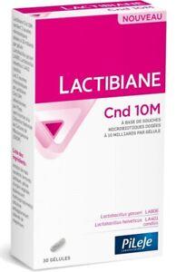 Pileje Lactibiane Cnd 10M Food Supplement 10 Billion Of 2 Microbiotic Strains