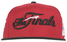 Mitchell and Ness Chicago Bulls 1991 NBA Finals Snapback Hat Headwear Mens Red