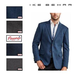NEW! SALE! IKE BEHAR Men's Stretch Knit Blazer CHOOSE VARIETY SIZE/COLOR - I53
