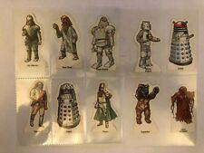 RARE DOCTOR WHO & HIS ENEMIES WEETABIX 1975 ORIGINAL VINTAGE CARDS, CHOOSE YOURS