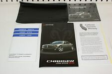 2010 New Dodge Charger  User Guide Manuel & Case with CD FREE SHIPPING