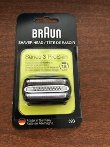 Braun Series 3 32B Replacement Shaver Heads