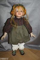 Porzellan 🌺🌺 Inge Enderle Gretchen 🌺🌺  limitierte Puppe 🌺🌺mit Zertifikat