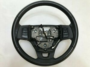 Ford Focus BLACK Leather Steering Wheel 2008 2009 2010 2011 Cruise Radio Buttons