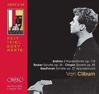 Van Cliburn (piano) - Brahms / Beethoven / Barber / Chopin - Van Cliburn [CD]