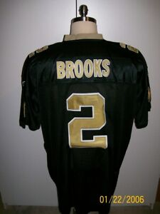 AARON BROOKS UNSIGNED NEW ORLEANS SAINTS JERSEY SIZE 60