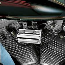 Drag Specialties Chrome Coil Switch Cover 11-13 Harley Davidson FXS FXSB FXCWC
