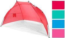 Strandmuschel Windschutz Sichtschutz 218 x 115 x 115  Sonnenschutz Tragetasche