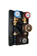 Pumpengruppe Heizkreis 4 Wege Mischer ESBE + GRUNDFOS UPS2 Energieeffizienzpumpe
