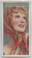 Anna Neagle English Film Stage Actress Dancer 80+  Y/O Trade Ad Card