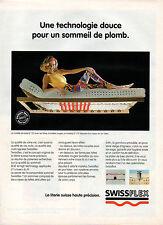 Publicité 1997  SWISSFLEX la literie suisse haute précision
