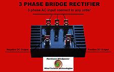 Rectifier For 3 Three Phase Ac Wind Turbine Generator Heavy 100 Amp