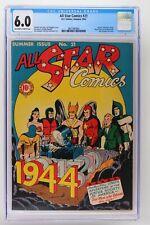 All Star Comics #21 - DC 1944 CGC 6.0 Spectre and Atom cameo!
