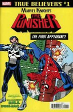 TRUE BELIEVERS Punisher First appearance AMAZING SPIDER-MAN 129 RPT NM – MARVEL