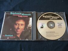 BARBARA MASON - THE BEST OF CD PHILADELPHIA'S LADY LOVE (1990) BUDDAH SOUL CD115