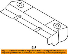 CHRYSLER OEM Floor Rails-Rear-Heat Shield 4673702AB