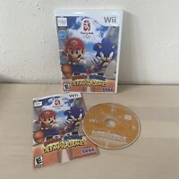 Mario & Sonic at the Olympic Games (Nintendo Wii, 2008) CIB Excellent Condition