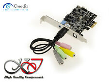 Controller Card PCIE SOUND 5.1 - CHIPSET CM8826 - CMEDIA OXYGEN HD