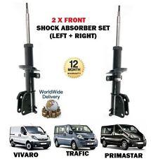 pour Opel Vivaro Renault Trafic Nissan Primastar 2 x AMORTISSEUR AVANT SET