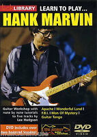 LICK LIBRARY Learn to Play HANK MARVIN Shadows Lesson TUTOR Lesson Guitar DVD