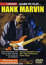 Fare clic su Libreria imparare a giocare Hank Marvin ombre lezione Tutor lezione CHITARRA DVD