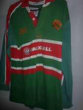 """2001-2003 Leicester Tigers Casa Rugby Shirt Adulto Pequeño 36-38 """" (31700)"""