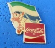 1988 Coca Cola Ltd Edition Flag Pin - Sierra Leone
