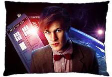 "New Dr. Doctor Who Matt Smith Flying Tardis 30"" x 20"" Standard Size Pillow Case"