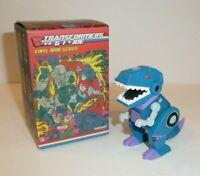 RARE Blue Grimlock Mystery Vinyl Mini Series Transformers GIJOE Kidrobot Figure