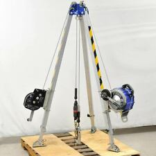 Reliance Fall Protection Confined Space Tripod Kit With Srl And Personnel Hoist
