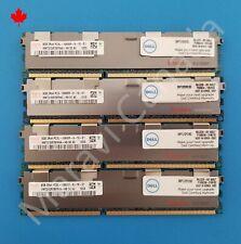 Dell Hynix 32GB 4x8GB DDR3 PC3L-10600R HMT31GR7BFR4A RAM Memory SNPTJ1DYC/8G
