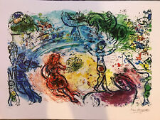 Marc Chagall Signed Serigraph RARE - HARD TO FIND limited edition