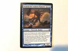 Miscut True-Name Nemesis German Misprint MTG GENUINE EDH Commander Magic