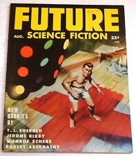 Future Science Fiction – US digest – August 1954 – Vol.5 No.2 - Sherred, Bixby