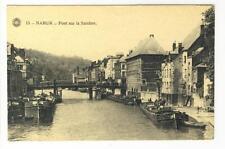 AK Namur, Pont sur la Sambre, 1910