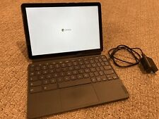 """Lenovo Chromebook Duet 10.1"""" ChromeOS Tablet With Keyboard and Cover - 64GB"""